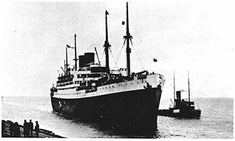 SS Albert Ballin - Image: SS Albert Ballin.1923