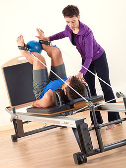 Stott Pilates Rehab instructor training at Toronto Corporate Training Center.