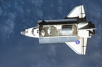 STS-111 - Endeavour approaches the ISS