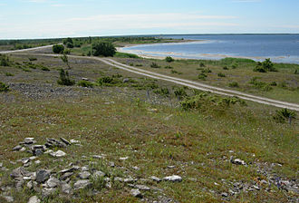 Moonsund Landing Operation - Beach used for Soviet amphibious attack, northwest Sõrve Peninsula.