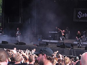 Sabaton (band) - Sabaton performing at Norway Rock Festival in 2010