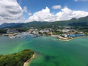 Sai Kung Town - Aerial view of Sai Kung Town (2017)