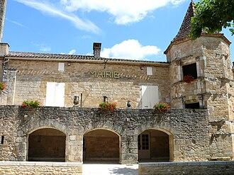 Saint-Front-sur-Lémance - The town hall in Saint-Front-sur-Lémance