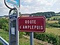 Saint-Just-d'Avray - Route d'Amplepuis - plaque (août 2018).jpg