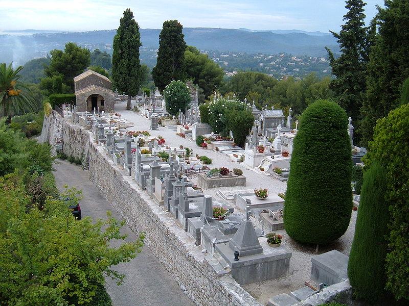 File saint paul de vence cemetery jpg wikimedia commons for Chagall st paul de vence
