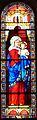 Saint-Sauveur (Dordogne) église vitrail.JPG