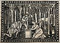 Saint Martha (?). Woodcut. Wellcome V0032611.jpg