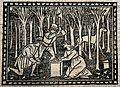 Saint Martha (?). Woodcut. Wellcome V0032611.jpg