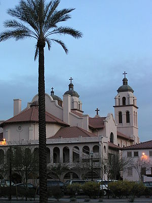 St. Mary's Basilica (Phoenix) - Image: Saint Mary's Basilica 003