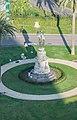 Saint Peter memorial in gardens in the Vatican City.jpg