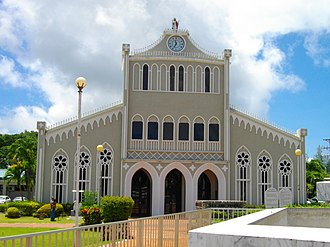 Our Lady of Mount Carmel Cathedral, Chalan Kanoa Saipan Mount Carmel Cathedral.JPG