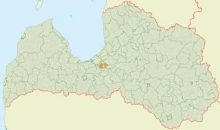 Salaspils Parish parish of Latvia in Salaspils Municipality