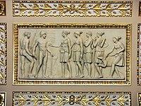 Salle de Diane (Louvre) - Diane et ses Nymphes demandant à Vulcain leurs armes de chasse.jpg