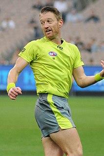 Sam Hay (umpire) Australian football umpire