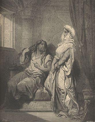 Samson and Delilah (opera) - Image: Samson and Delilah Gustav Dore ca. 1860