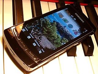 Samsung i8910 Omnia HD smartphone model