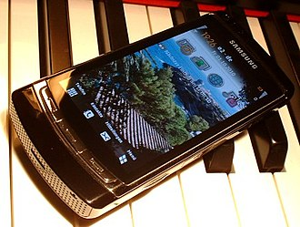 Symbian - Symbian S60 5th edition on a Samsung Omnia HD