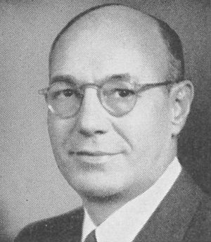 Samuel Friedel - Rep. Samuel Friedel, 1953 from Congressional Pictorial Directory