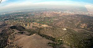 San Joaquin Hills, Newport Beach - Image: San Joaquin Hills CA photo D Ramey Logan