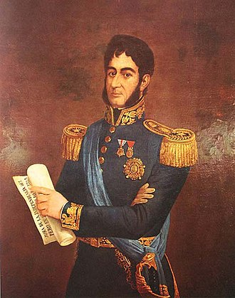 Francis Martin Drexel - A portrait of San Martín by Drexel.
