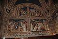 San Miniato al Monte (Florence) - Spinello Aretino fresco 3.JPG