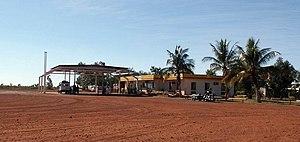 Sandfire, Western Australia - Sandfire Roadhouse in 2003.