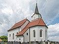 Sankt Andrae Poelling Pfarrkirche hl Johannes d T und Friedhof 15072015 5874.jpg