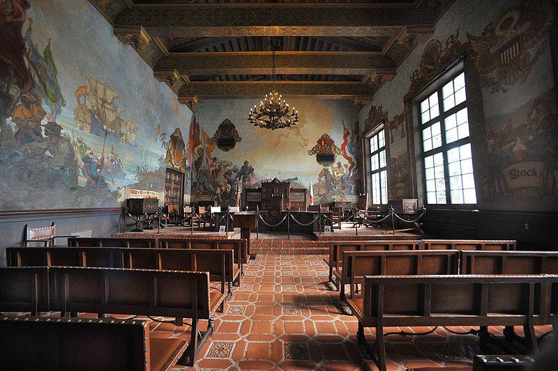 Santa Barbara County Courthouse Mural room.jpg