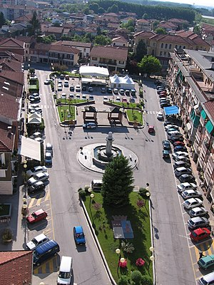 Santena - Image: Santena.piazza 1