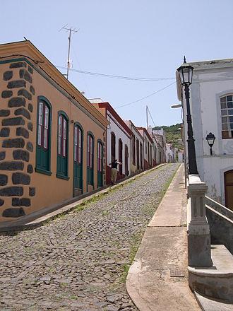 Garafía - Image: Santo Domingo village