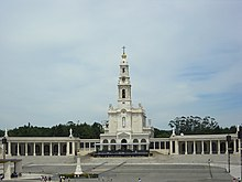 The Shrine Of Our Lady Fátima In Portugal Is One Largest Religious Tourism Sites World