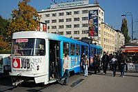 Sarajevo Tram-268 Line-5 2011-10-31.jpg