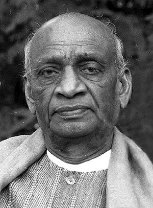 Minister of Home Affairs (India) - Image: Sardar patel (cropped)