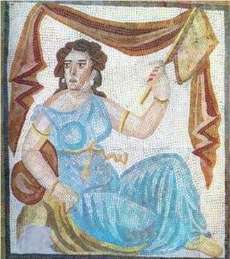 Women in the Sasanian Empire - Sasanian-era artwork of an Iranian woman.