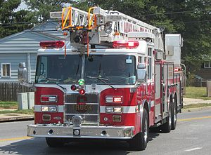 Howard County Department of Fire and Rescue Services - Truck 6