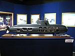 Scale 1-25 Model of Type 212 Submarine Salvatore Todaro (S 526) - Mostra istituzionale della Marina Militare (Sept. 2008) - Villa Genoese Zerbi (Reggio Calabria) - Italy - (2).jpg