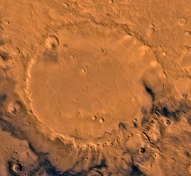 651px-Schiaparelli_crater_by_Viking_orbi
