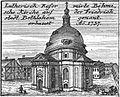 Schleuen - Luthersich-Reformierte Böhmische Kirche 1757.jpg