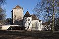 Schloss Feistritz bei Ilz Westseite mit Wohnturm.jpg