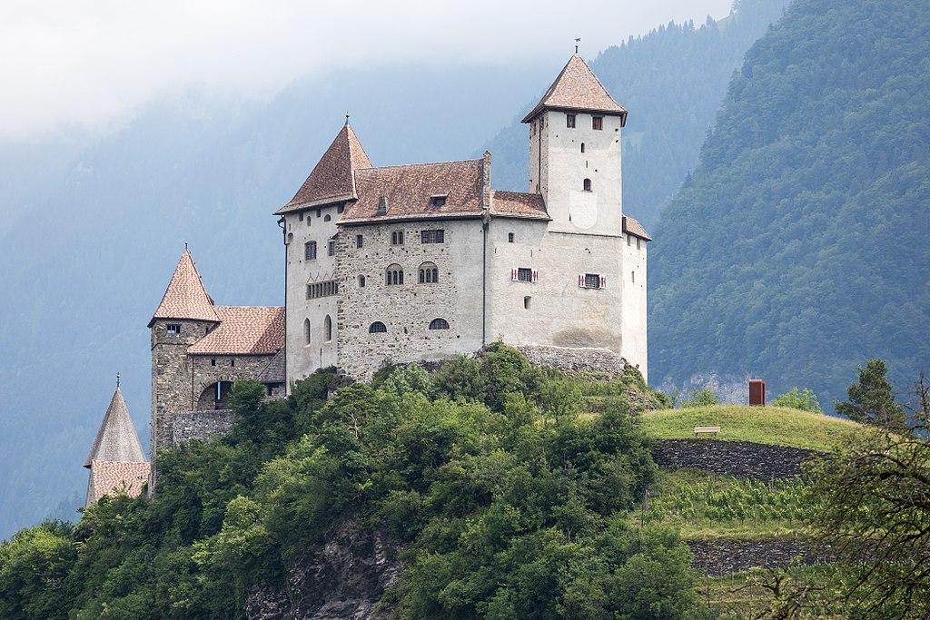 Schloss Gutenberg in Balzers, Liechtenstein