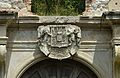 Schloss Pottendorf - portal, coats of arms.jpg