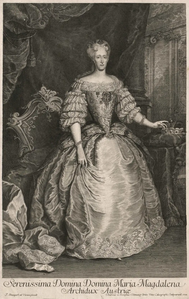 Schmuzer after van Stampart - Archduchess Maria Magdalena of Austria.png