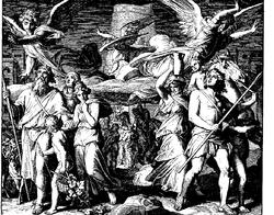 Schnorr von Carolsfeld Bibel in Bildern 1860 021