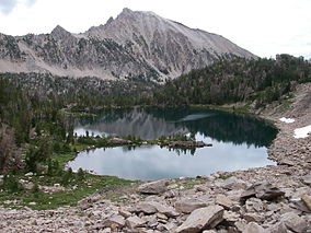 Scoop Lake, Custer County, Idaho.JPG
