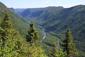 Quebec - Jacques-Cartier River