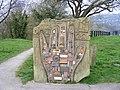 Sculpture at entrance to Trevor Basin - geograph.org.uk - 1241369.jpg