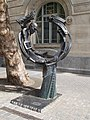 Sculpture at the Liszt Academy. - Budapest District VI., Liszt Ferenc Square. 8.JPG
