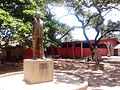 Sculpture garden of the Ghana National Museum.jpg