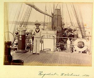 Seaman aboard HMS Royalist Brisbane 1894.jpg