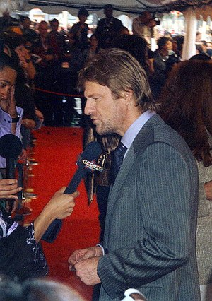 Sean Bean - Bean at the premiere of North Country at the 2005 Toronto International Film Festival